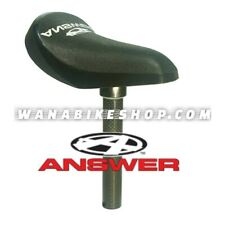 Tangent Products Seat//Post Combo BMX Seat//Combo Black