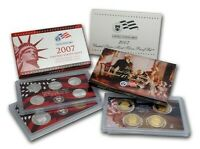 2007 Silver Proof US Mint Coin Set - 14 Coins