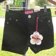 Yom Yom, girls black shorts, size 10 USA, NWT