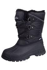 Mountain Warehouse Older Kids UK 1 EU 33 Black Whistler Winter Snow Boots NEW