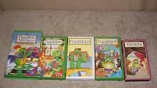 Franklin Lot 5 VHS Videos Green Knight Movie Birthday Secret Club Christmas pbs