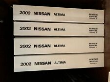 nissan altima 2002 owners manual