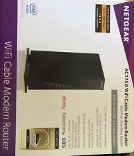 NETGEAR AC1750 (C6300-100NAS) Wi-Fi Cable Modem Router (Pre-Owned)