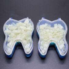 2 box temporary Crowns anterior teeth \ posterior teeth dental prosthesis Plastic,