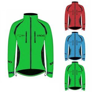 Proviz REFLECT360 CRS Plus Men's Hi Viz Reflective Cycling Jacket Hi Visibility