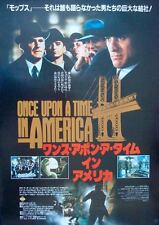 ONCE UPON A TIME IN AMERICA Japanese B2 movie poster A SERGIO LEONE DE NIRO