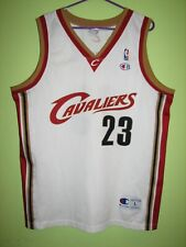 NBA #23 LEBRON JAMES CLEVELAND CAVALIERS SHIRT CHAMPION JERSEY SIZE L