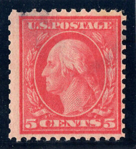 US Stamps Scott #505* MH, Pulled Perf, Thin. Cat: $600