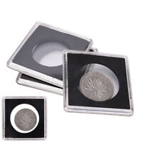 1pc Plastic Coin Holder Coin Case Storage Capsule Black Hot Sale 40.5MM SP