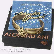 Authentic Alex and Ani Wonder Woman Rafaelian Gold CUFF WRAP