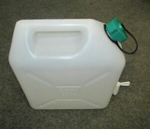 2 x 5 L natur CK-Kanister Kiste Behälter Trinkwasserkanister Wasserkanister NEU