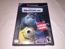Monster's, Inc. Scream Arena (Nintendo GameCube) Disney Pixar Complete Excellent