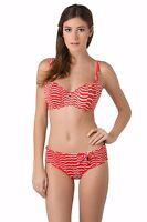 NEW Season Freya St Louis 50's Low Leg Bikini Briefs Red