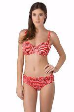 SALE ** NEW Season Freya St Louis 50's Low Leg Bikini Briefs Red ** RRP £24 ***
