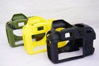 Silicone Armor Skin Case Camera Cover Protector Bag For Nikon D3300