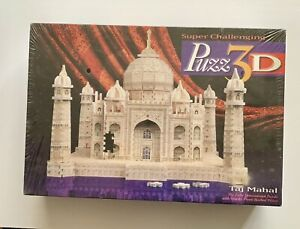 PUZZ 3D 1077 Pieces Jigsaw puzzle TAJ MAHAL Super Challenging Brand New Sealed