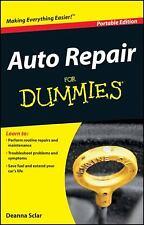 Auto Repair for Dummies: Portable Edition by Sclar, Deanna