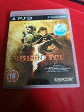 *SALE* Resident Evil 5 Gold Edition PS3 PlayStation 3 ALL DLC INCLUDED ON DISC