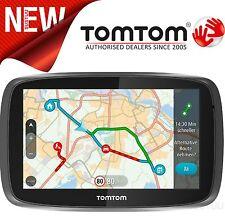 NEW TomTom GO 610 GPS SATNAV Lifetime WORLD Maps Speed Camera & Traffic Updates