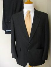 Brooks Brothers Suit 40R Gray 2 Buttons Pants 38 X 28 Made USA