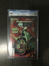 GREEN LANTERN CORPS # 5/ The new 52! / CGC Universal 9.8 / DC / March 2012