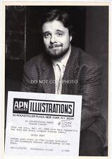 Vintage 1989 Press Photo NATHAN LANE in The Lisbon Traviata Off Broadway NY