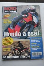 MOTO JOURNAL 1272 Essai Road Test KAWASAKI ZRX 1100 YAMAHA TZ 250 500 700 TD1