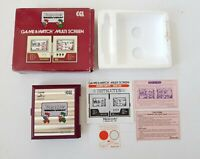 Nintendo Game and Watch Mario Bros CGL, MW-56 1983 Japan.BOXED. WORKS