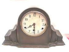 Oak German Antique Clocks with Chimes