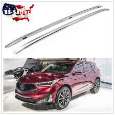 For Acura RDX 2019 2020 Silver Roof Rack Cargo Side Rails Luggage Baggage