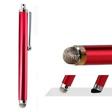 Eingabestift Touchpen Smartphone Tablet HTC Samsung Apple LG Nexus neu rot