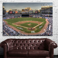 #09 Yankee Stadium NY Baseball Sport Athlete 40x60 inch More Size Large Poster