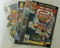 IMAGE+MARVEL COMIC PSI FORCE VOL. 1 ISSUE 8 SHATTERED IMAGE VOL.1 ISSUES 1, 2, 3