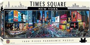 Times Square New York 1000 piece panoramic jigsaw puzzle  990mm x 330mm  (mpc)