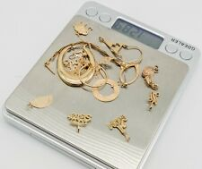 Lot of 14k Gold Charms and 14kt Gold Scrap - 12.89 grams