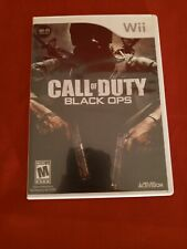 Call of Duty: Black Ops - Nintendo  Wii Game