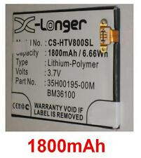 Batterie 1800mAh type BM36100 35H00195-00M Pour HTC One VX