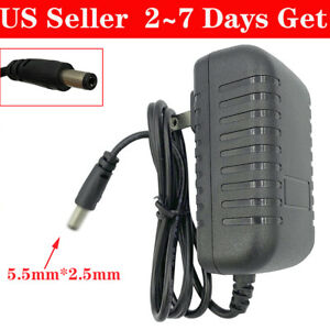 5V 4A AC/DC Power Supply Replacement Adapter with 2.5mm x 5.5mm Tip Center +