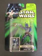 Jango Fett Sneak Preview 2001 STAR WARS Power of the Jedi POTJ MOC