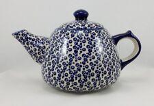 Bunzlauer Keramik Kanne, Tee oder Kaffee, Kanne für 1,35Liter (C038-MAGD)