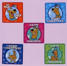 15 Scooby Doo Christmas Holiday Ornament - Large Stickers - Party Favors