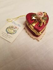 "2002BlueSky""Youve Taken My Heart"" Heather Goldminc Porcelain Hinged Box! Rare"