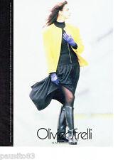 PUBLICITE ADVERTISING 046  1987  Olivier Strelli  haute couture