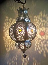 Lustre plafonnier marocain fer patiné lampe applique hj lanterne photophore