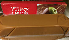 Peters 5 lb Caramel Loaf - Creamy Melting Loaves - Apples Truffles Clusters etc