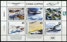 MARSHALL ISLANDS 2017 CHINA CLIPPER SHEET OF  SIX   MINT NH