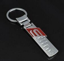 Audi Key Ring Chain S Line Pendant  A3 A4 A5 A6 A8 Q5 7 TT Best Quality UK Stock