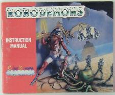 Robodemons Nintendo NES Instruction Book