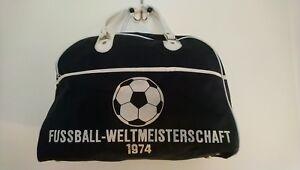 FIFA WORLD CUP 1974 Sporttasche Bag  WM 74 Design 70ies Tasche Fussball football