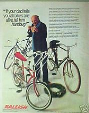 1968 Raleigh Fireball, Record, Bicycles/ Bike Promo AD